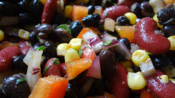Summer Bean Salad - www.theculinarycapers.com