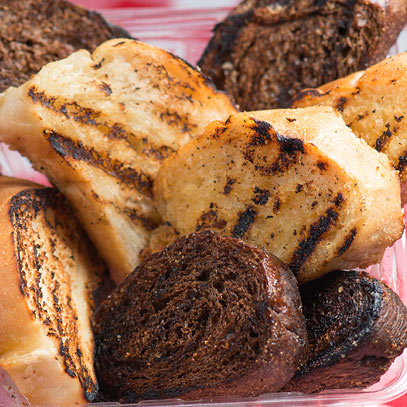 mancini's classic char-grilled garlic toast