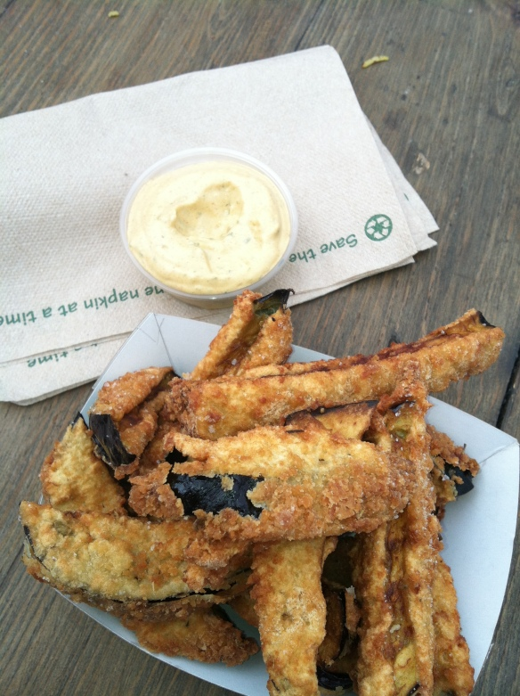 Eggplant fries from Sonora Grill - www.theculinarycapers.com review of the MN state fair