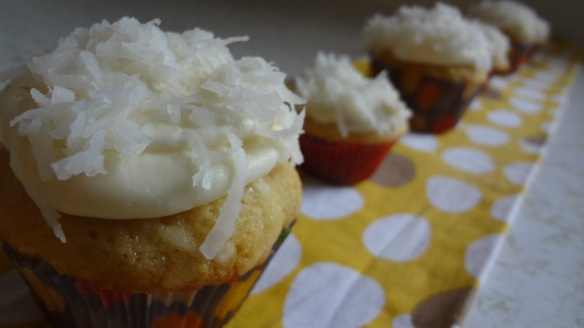 Coconut Cupcakes // The Culinary Capers