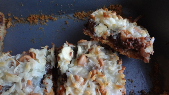 Seven layer bars - love these!