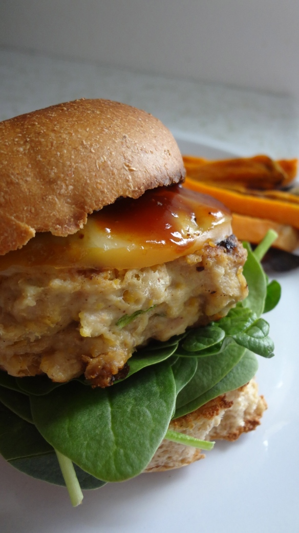 Turkey Chickpea burgers