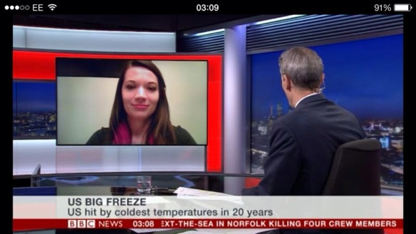 Live Interview on BBC News