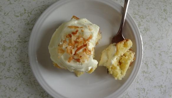 Coconut Tres Leches Cake with Lemon Cream - Easter Dessert?