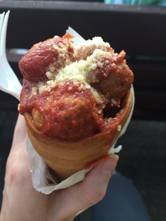 Meatball Cicchetti - MN State Fair 2014