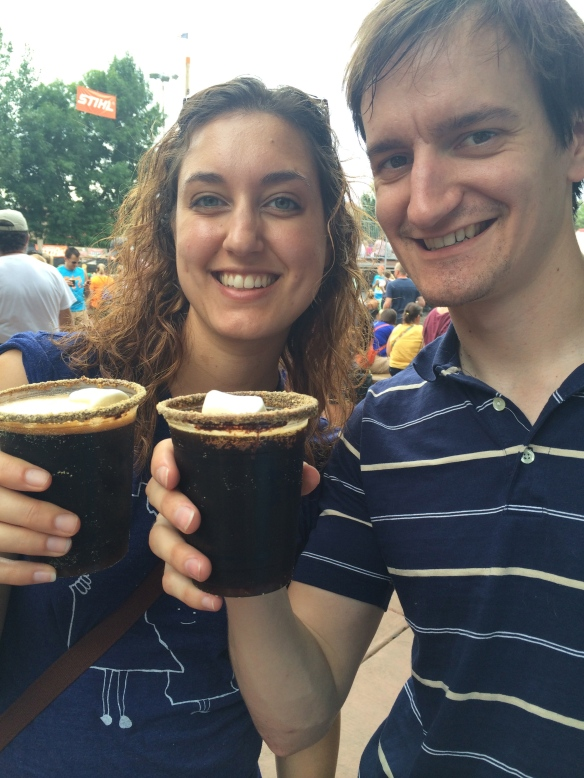 S'mores beer - MN state fair 2014